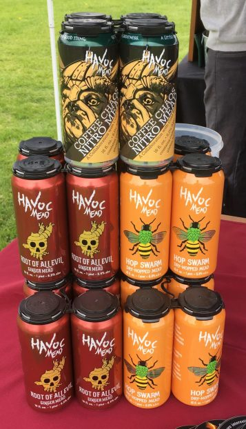 May 19, 2018 - Havoc Mead at Stowe Craft Brew Races in Stowe, Vermont