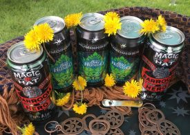 May 19, 2018 - Magic Hat Brewing at Stowe Craft Brew Races in Stowe, Vermont