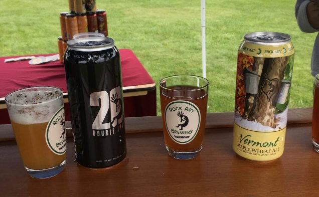 May 19, 2018 - Rock Art Brewery at Stowe Craft Brew Races in Stowe, Vermont