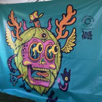 August 4, 2018 - Collective Arts Brewing at Stowe Brewers Festival in Stowe, Vermont