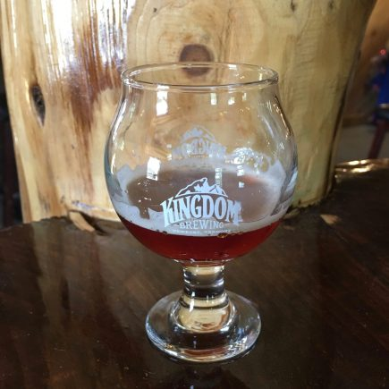 July 5, 2018 - Sample of sour at Kingdom Brewing in Newport, Vermont (1)