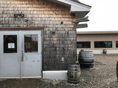 October 27, 2018 - Retail Shop at Hill Farmstead Brewery in Greensboro, Vermont
