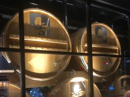 November 1, 2018 - Barrels at Trillium Brewing Company in Boston, Massachusetts