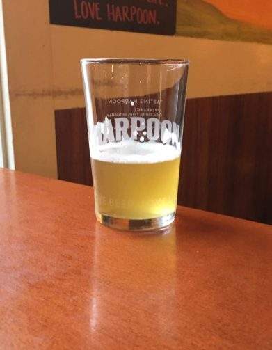 November 2, 2018 - Sample at Harpoon Brewery in Windsor, Vermont