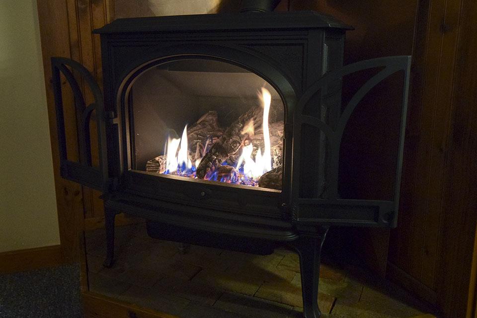 Chestnut Cabin Winter Amenities