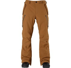 A pair of good Gore-Tex 2L pants are must haves. Gore-Tex helps keep a wet chairlift at bay