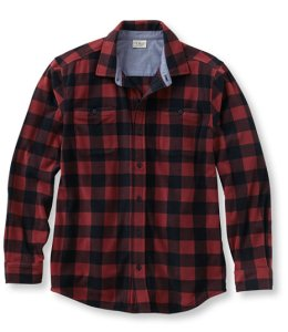 The LL Bean Fleece Flannel shirt is functional as a layering piece but can also go out to the Bench or Piecasso