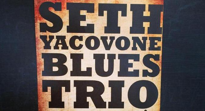 Seth Yacovone Blues Trio @Doc Ponds
