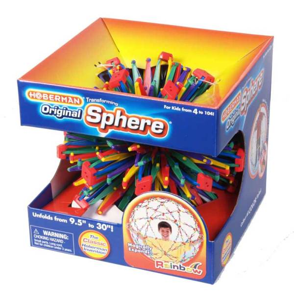 rainbow hoberman sphere
