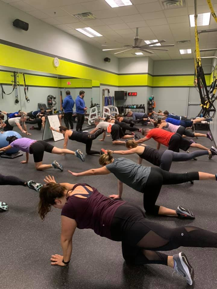 Small Group Training Stow Fitness Center