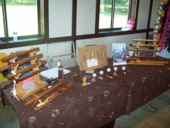Don Hinkle wood crafts