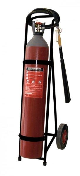 Πυροσβεστήρας διοξειδίου Co2 45kg,τροχήλατος
