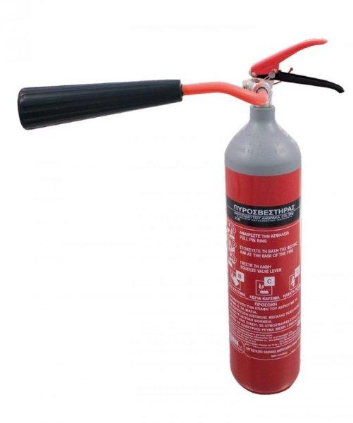 Πυροσβεστήρας διοξειδίου Co2 2kg