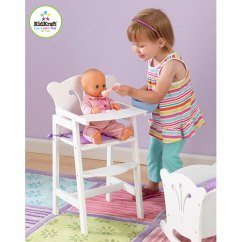 American Girl Doll High Chair Sealy Posturepedic Lil Accommodates Dolls A Child