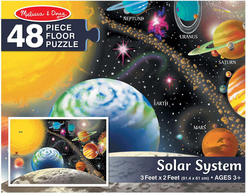 Solar System Floor Puzzle 48 Pc