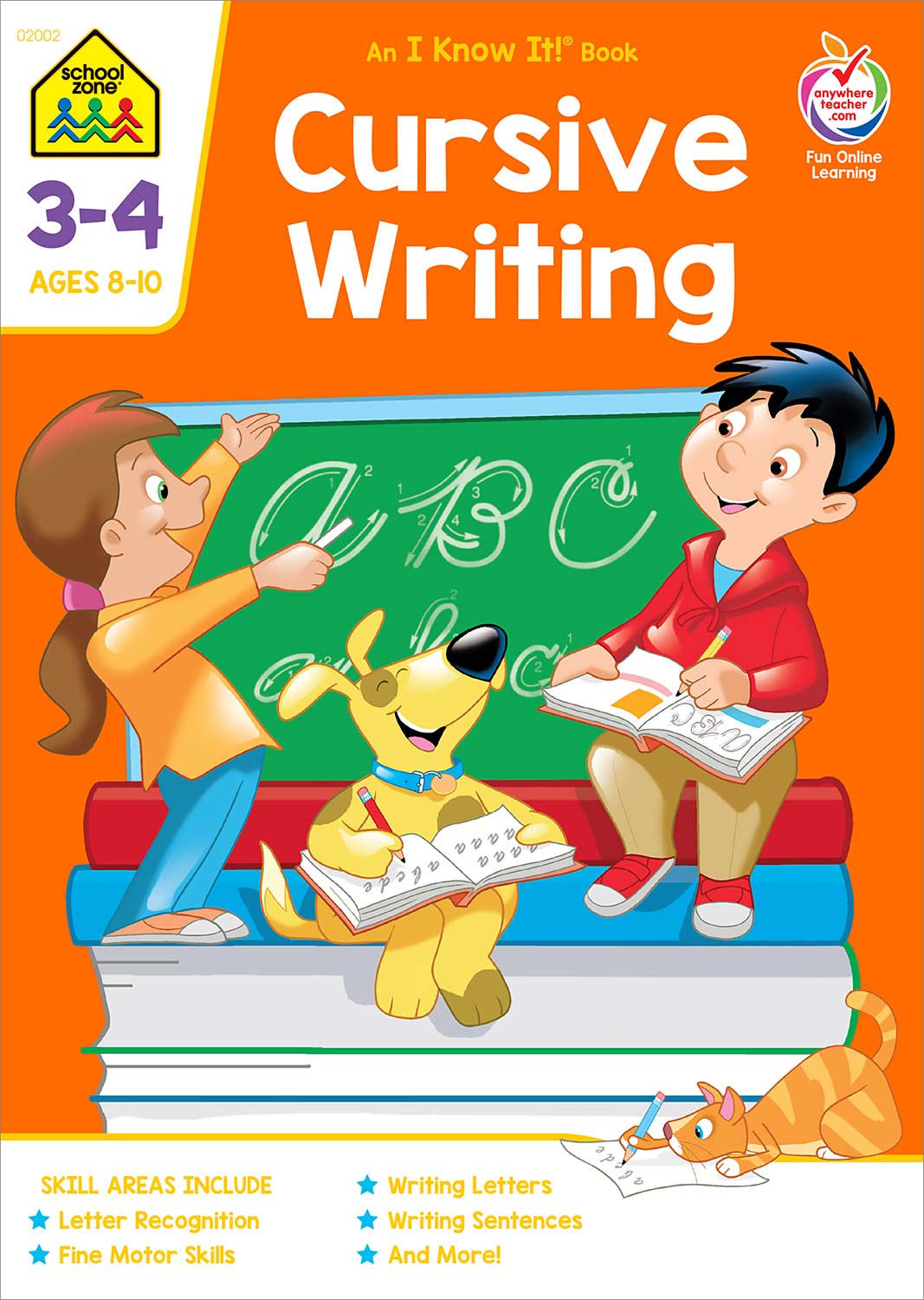 Third And Fourth Grade Workbooks Cursive Writing