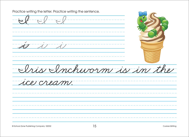 Third And Fourth Grade Workbooks Cursive Writing
