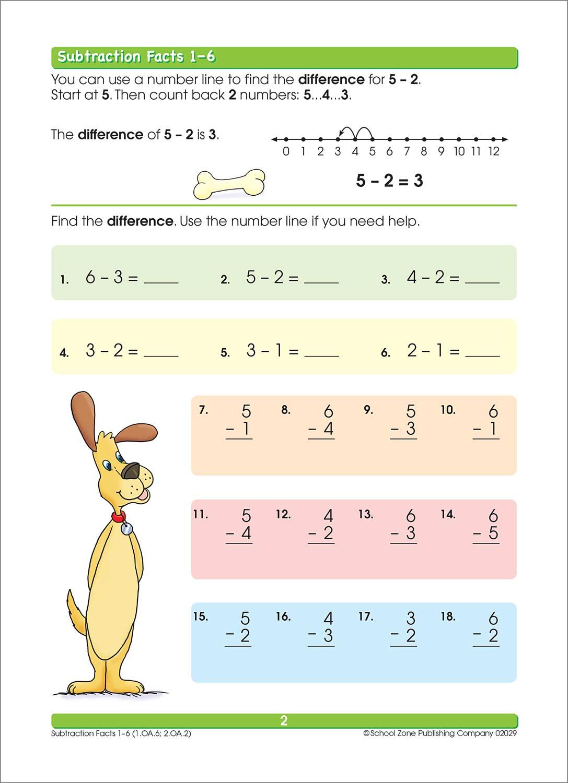 Addition Amp Subtraction 1 2 Workbook
