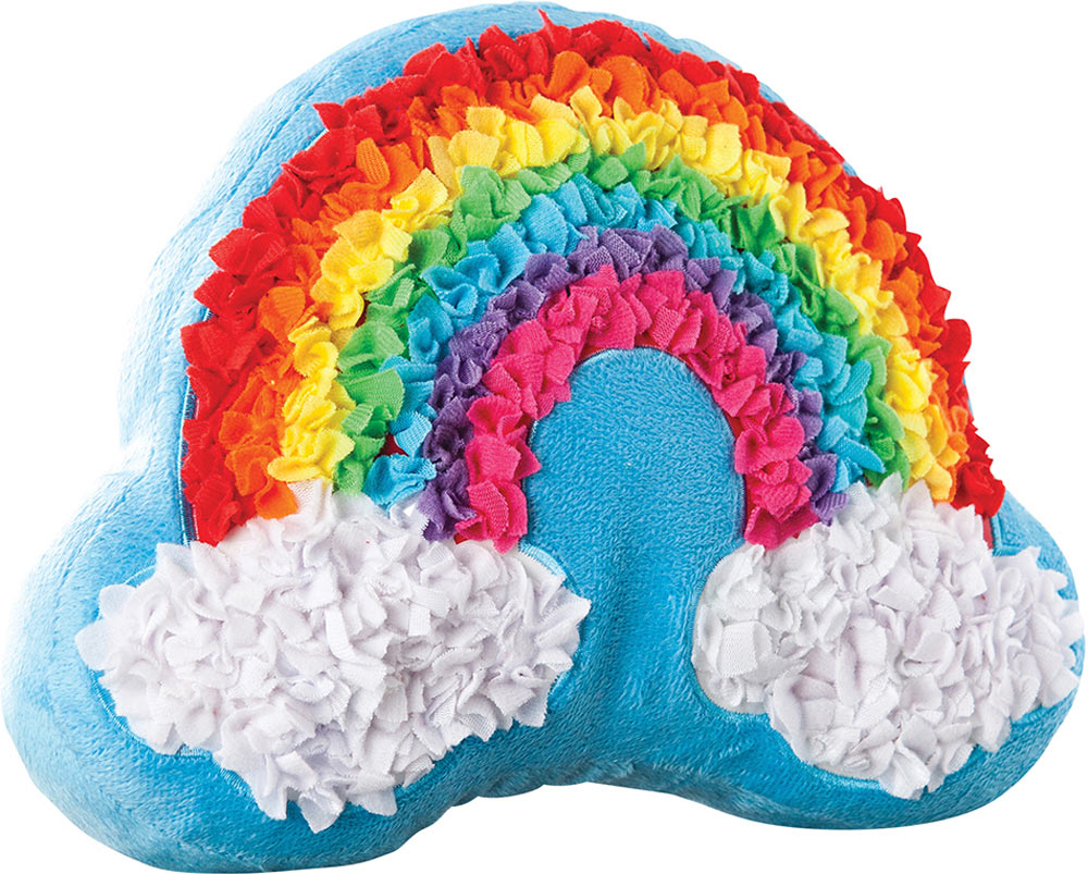 PlushCraft Rainbow Pillow  Over the Rainbow