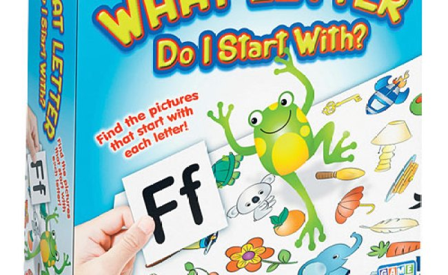 What Letter Do I Start With Game The Toy Station At