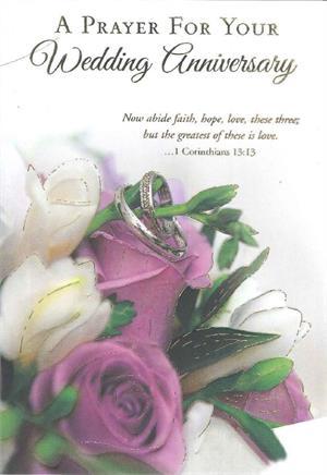 Wedding Anniversary Prayer : wedding, anniversary, prayer, Prayer, Wedding, Anniversary