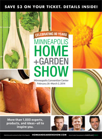 Last Weekend Was The 2014 Minneapolis Home And Garden Show.
