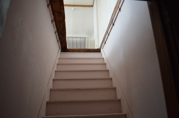 Opening a staircase