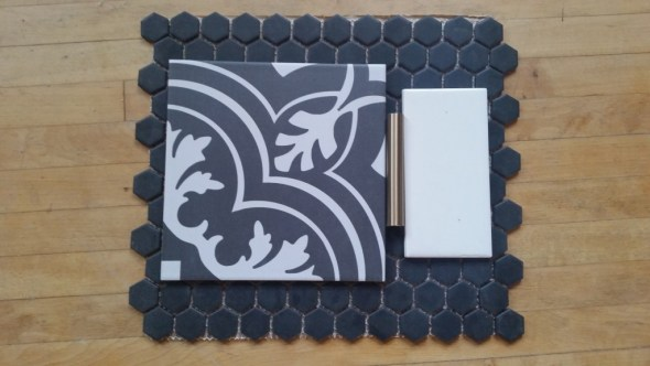 bathroom tile samples