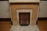 Sealing the Old Fireplace | St. Paul Haus