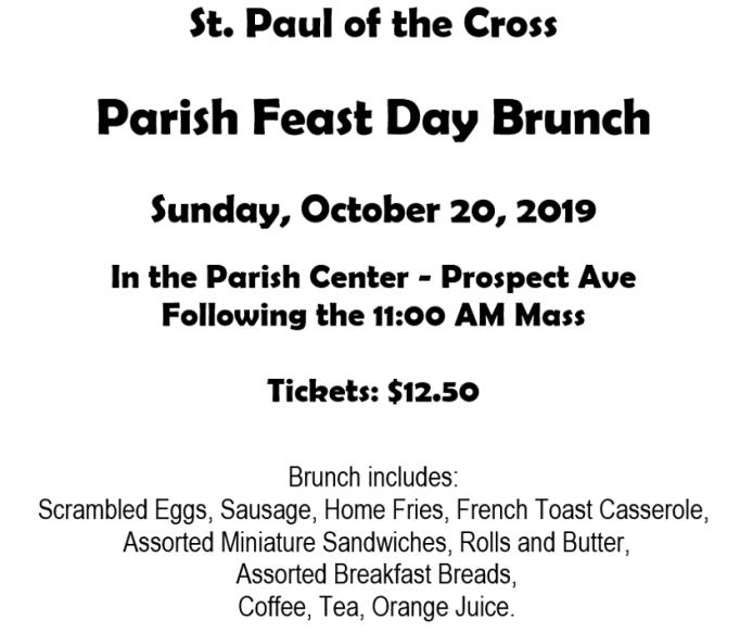 St. Paul Of The Cross Parish