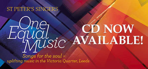 CD available - One Equal Music