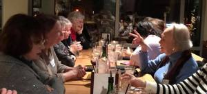 Scenes from an Episcopal Ladies' Night Out (ELNO)