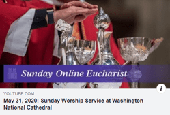 Pentecost Service from the National Cathedral