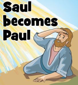 Children's Church October 25, 2020: Saul becomes Paul