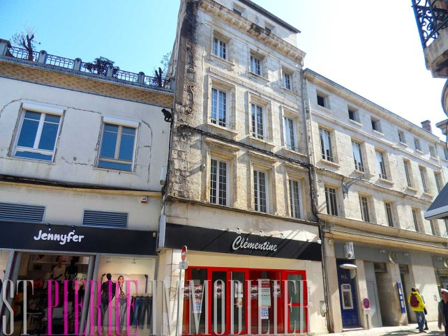 vente lot de 3 appartements rue ricard a niort st pierre immobilier