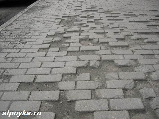 Що таке тротуарна плитка? Опис, види, виробництво і ціна тротуарної плитки