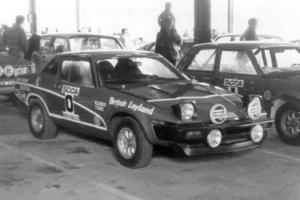 """John Buffum and Doug Shepherd won the 1978 SCCA ProRally """"Press On Regardless"""" in 1978 in this Triumph TR7. (photo courtesy of Tim Winker)"""