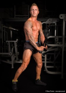 Mark Proctor in the Gym