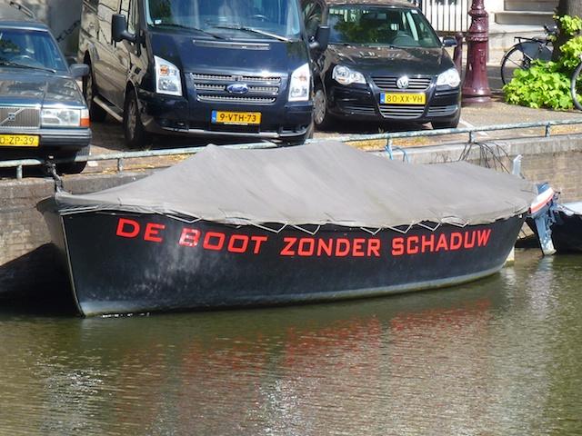 Boot zonder schaduw