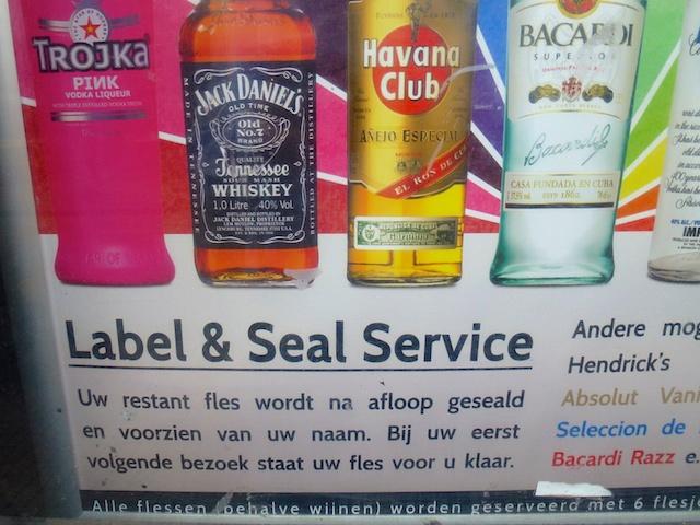 Label & Seal service