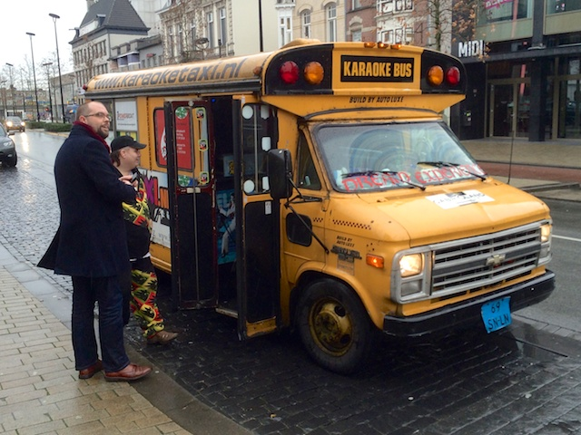 Karaoke bus