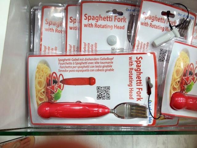 Spaghetti draaivork
