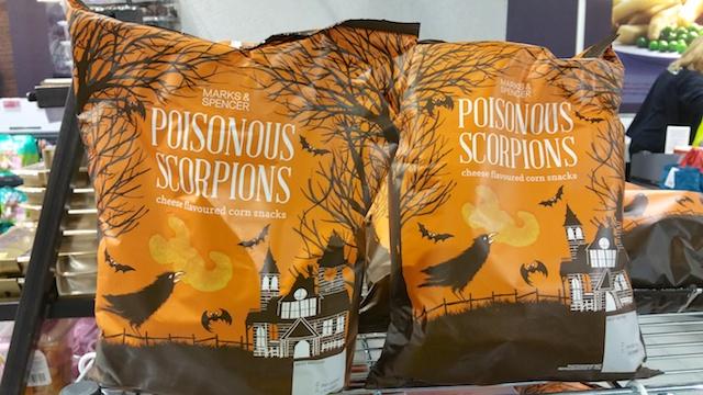 Poisonous Scorpions