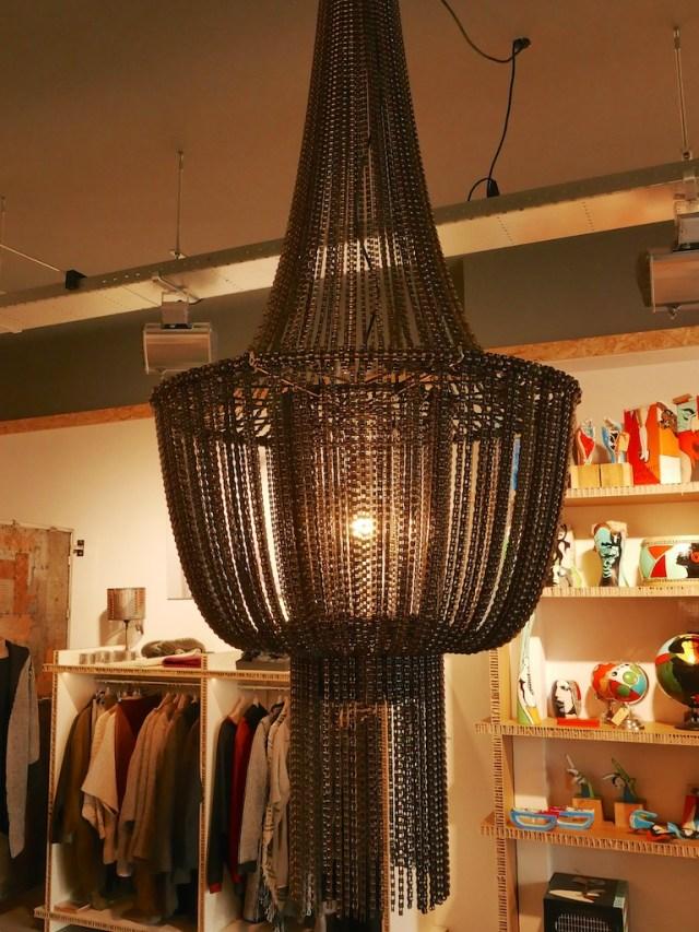 Fietskettinglamp