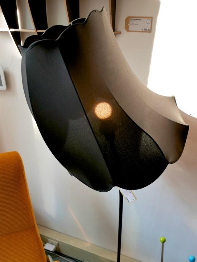 Kromme lamp