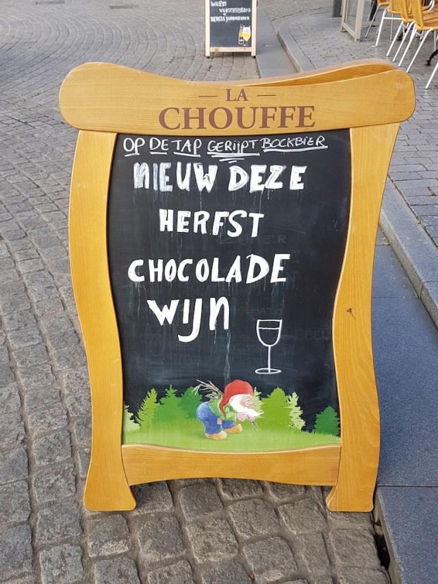 chocoladewijn