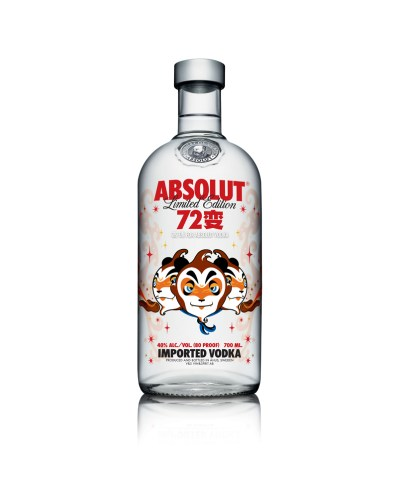 ABSOLUT 72 Bian (white bg)
