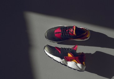 nike-air-huarache-size-black-lazer-orange-fuchsia