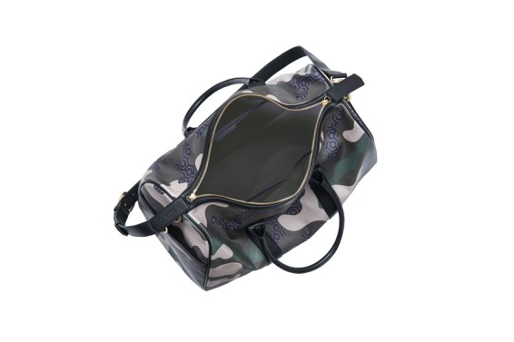 Voyager Duffel- Camouflage Green detail $479