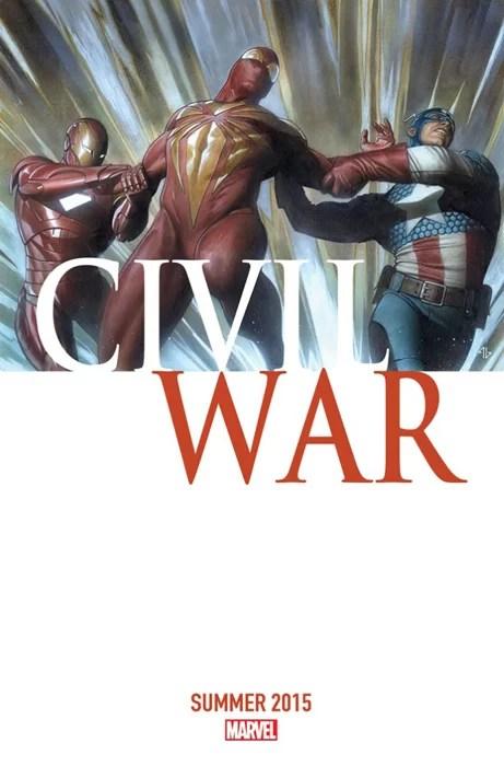 Marvel's Civil War teaser photo (Image credits: Marvel)
